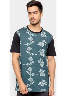 Camiseta Mcd Especial Wire Fence Masculina - Masculino-Verde