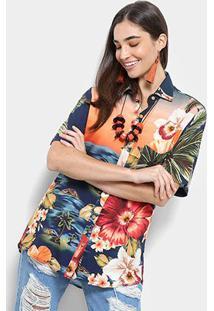 Camisa Farm Moana Uni Feminina - Feminino