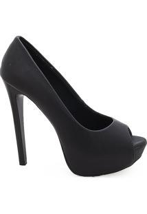 3790f9150 Sapato Couro Salto Alto feminino