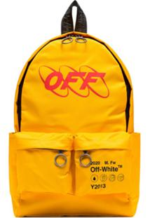 Off-White Industrial Backpack - Amarelo
