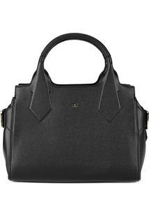 Bolsa Handbag Semax Gio Antonelli Estruturada Feminina - Feminino-Preto