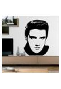 Adesivo De Parede Elvis Presley - M 66X48Cm