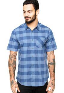 Camisa Manga Curta Oakley Summer Azul