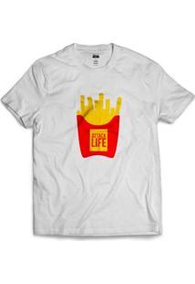 Camiseta Attack Life French Fries - Masculino