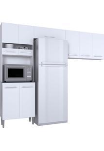 Cozinha Compacta 3 Peças Karina -Poquema - Branco