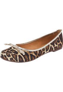 38394c7c3 ... Sapatilha Dafiti Shoes Onça Bege/Preto