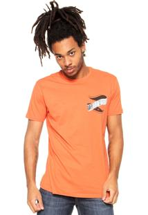 Camiseta Oakley Streamer Laranja