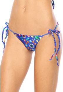 Calcinha Vestem String Fashion Azul