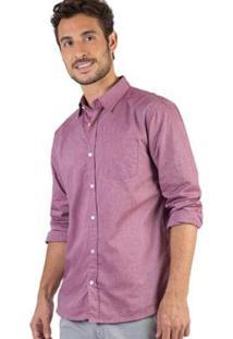 Camisa Lisa Goiaba Taco Masculina - Masculino
