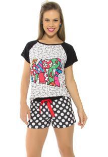 Pijama Femino Recco Curto Verão 09175 - Feminino