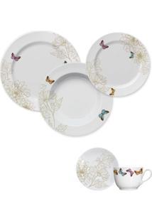Aparelho De Jantar E Chá Milao Germer Porcelanas, 20 Peças