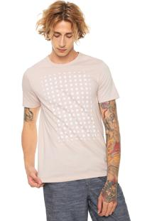 Camiseta Hering Bolinhas Rosa