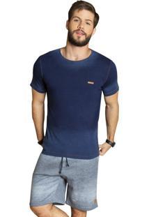 Camiseta Surf.Com ÍndigoAzul