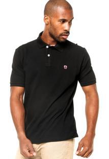 Camisa Polo Mr. Kitsch Basic Preta