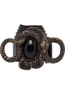 Cinto Fiveblu Cobra Preto