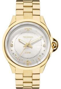 a0337156d3abe R  579,90. Zattini Relógio Moderno Feminino Dourado Aço Technos ...