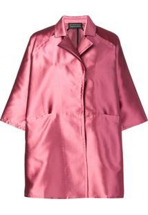 Gianluca Capannolo Oversized Shirt Dress - Rosa