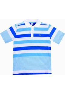 Camisa Pau A Pique Polo Listrada - Masculino