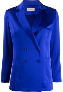 57336a855b ... Blanca Formal Satin Blazer - Azul