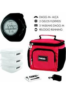 Kit Com Bolsa Térmica Fitness Dagg 1,5L E Balança Digital De Cozinha Até 5Kg - Unissex