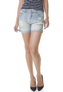 Bermuda Boyfriend Jeans - Unissex