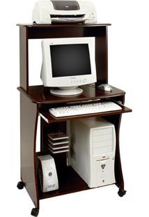 Mesa De Computador Ditália Tabaco Mc-133