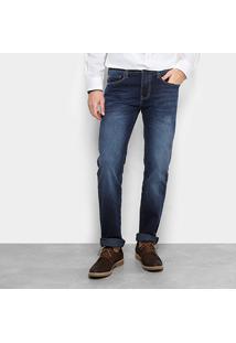 Calça Jeans Colcci Alex Masculina - Masculino-Azul