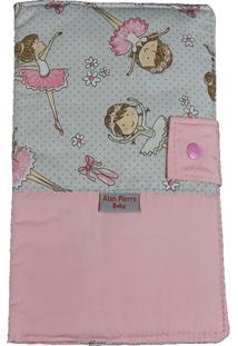 Capa Para Cartão De Vacinação - Alan Pierre Baby - Bailarina Rosa Nova
