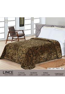 Cobertor Queen Nobre - Lince