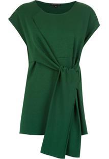 Alcaçuz Blusa 'Livina' Com Amarração - Verde