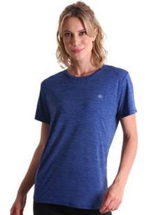 Camiseta Líquido Basic Energy Feminina - Feminino-Azul