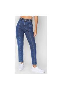 Calça Jeans Forum Mom Ana Azul-Marinho