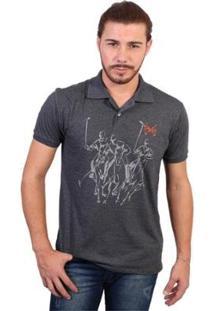Camisa Polo England Polo Club Estampada - Masculino