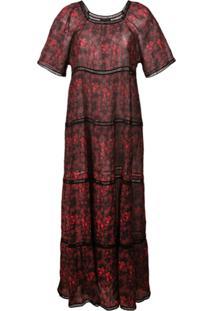 60fd1dff97a2b ... Morgan Lane Vestido 'Georgina' - Vermelho