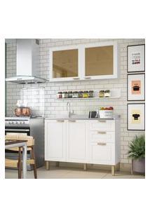 Cozinha Completa 3 Peças Americana Multimóveis 5921 Branco