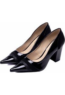 Sapato Scarpin Torricella Preto