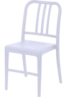 Cadeira Polipropileno Navy - Branca