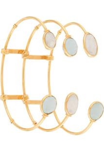 Gas Bijoux Bracelete Com Esferas - Dourado