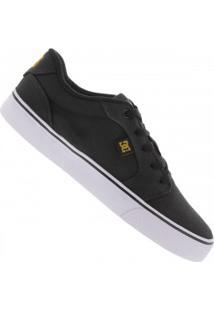 Tênis Dc Shoes Anvil La Tx - Masculino - Preto