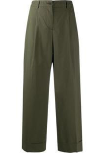 P.A.R.O.S.H. Calça Pantalona - Verde