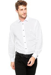Camisa Coca-Cola Jeans Reta Shape Branca