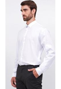 Camisa Manga Longa Social Básica Slim