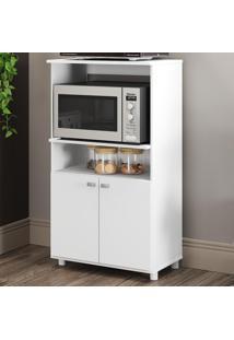 Armário De Cozinha Para Forno E Micro 2 Portas 6148G.010 Branco - Multimóveis