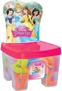Educa Kids Banquinho Lider Princesas Multicolorido - Multicolorido - Dafiti