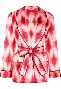 F.R.S For Restless Sleepers Blazer Estampado - Rosa
