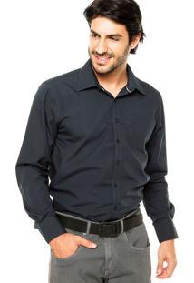 Camisa Fiveblu Comfort Basic Azul-Marinho