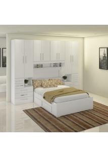 Dormitório De Casal Sem Cama 1223S Branco