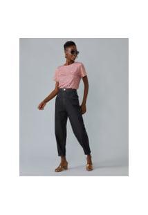 Amaro Feminino Camiseta Estampada Special, Granilite Pink