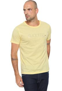 Camiseta Aramis Success Amarela