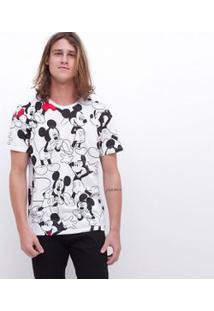 Camiseta Estampa Mickey